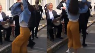 Demet Özdemir'in göbek dansı sosyal medyayı salladı