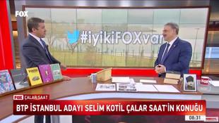 BTP İstanbul adayı Selim Kotil canlı yayında projelerini açıkladı