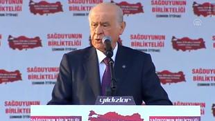 Devlet Bahçeli: ''Milli güvenlik sorunudur''