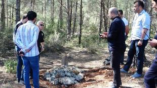 Ormandaki mezarın sırrı çözüldü !