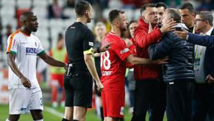 TFF'den flaş açıklama! Sergen Yalçın'ın 2 maçlık cezası onandı