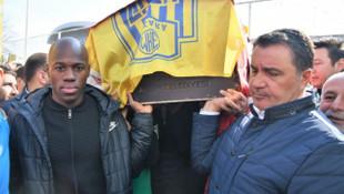 Kazada hayatını kaybeden MKE Ankaragücü taraftarları için tören düzenlendi