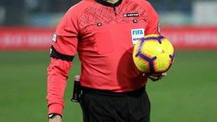Galatasaray - Yeni Malatyaspor maçını Halil Umut Meler yönetecek