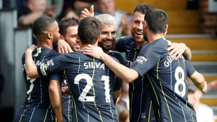 Fulham 0 - 2 Manchester City (Premier Lig)