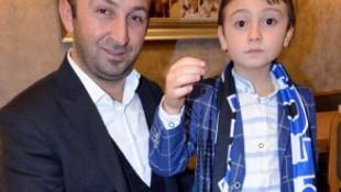 Erdoğan'ın tespih hediye ettiği çocuğun babası öldü