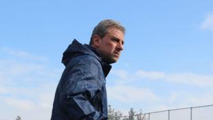Hamza Hamzaoğlu Erzurum'da ilk antrenmanına çıktı