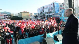 Erdoğan'dan sert mesaj: ''Yola gelecekler''