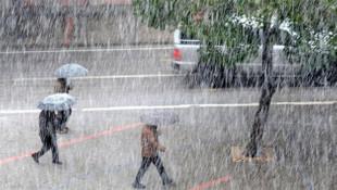 Meteoroji'den yağış uyarısı ! Sıcaklıklar 5 derece azalacak