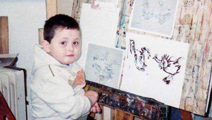 Dünya 16 yaşındaki ressamı konuşuyor
