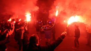 Fenerbahçe'ye Medipol Başakşehir maçı öncesi taraftar desteği