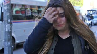 Genç kadın iş yerinde dehşeti yaşadı