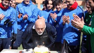 Hikmet Karaman'ın doğum günü kutlandı