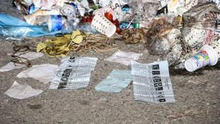 Çöpten ''Evet'' mühürlü oylar çıktı
