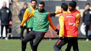 Galatasaray'da Muslera ve Belhanda sakatlık geçirdi
