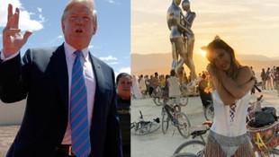 Trump gözünü Burning Man'e dikti