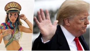 Şeyma Subaşı ABD Başkanı Trump'a seslendi