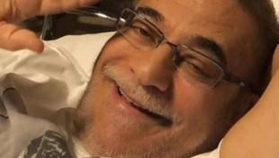 Mehmet Ali Erbil, hasta yatağından paylaştı
