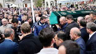 AK Partili Yazıcı'nın acı gününde tabutu Erdoğan sırtladı