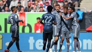 Fortuna Düsseldorf 1 - 4 Bayern Münih