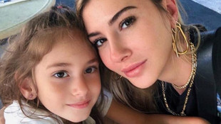 Şeyma Subaşı kızı Melisa ile Miami tatilinde