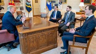Beyaz Saray'da sürpriz Albayrak - Trump görüşmesi