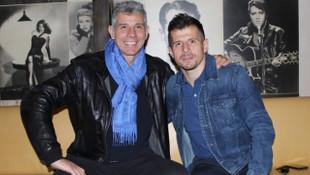 Francesco Toldo ve Emre Belözoğlu buluştu!
