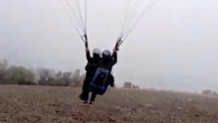 Muğla'daki yamaç paraşütü faciasında son anları ortaya çıktı