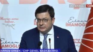 CHP'li Erkek: ''Cumhurbaşkanın da mazbatası iptal edilebilir''