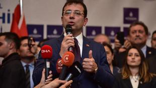 İBB Başkanı Ekrem İmamoğlu görevi Melüt Uysal'dan devraldı