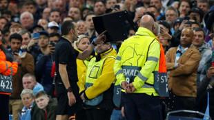 Cüneyt Çakır'ın kararları sonrası Fernandinho'dan şok küfür