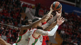 CSKA Moskova 68 - 78 Baskonia (THY Euroleague play-off)