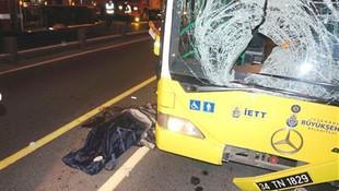 Edirnekapı'da kaza: Metrobüs yolcuya çarptı