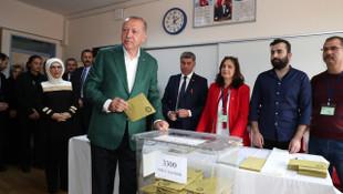 Erdoğan teşekkür mesajında İstanbul ve Ankara'yı saymadı