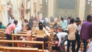 Sri Lanka'da çok sayıda saldırı var: 2'si Türk 185 kişi öldü