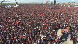 Maltepe'de Ekrem İmamoğlu mitingi