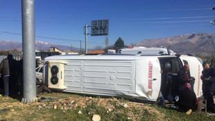 Antalya'da kaza ! Çok sayıda yaralı var