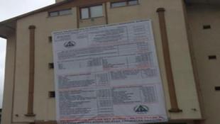 AK Partili belediyeden kalan borcu böyle ifşa etti