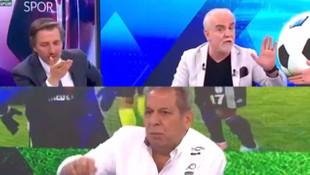 Erman Toroğlu ile Turgay Demir canlı yayında kavga etti