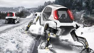 Hyundai yürüyen otomobil görenleri şaşkına çevirdi