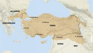 Der Spiegel'den skandal Türkiye haritası