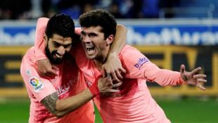 Deportivo Alaves 0 - 2 Barcelona (La Liga)