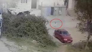 1 yaşındaki çocuğun feci ölümü güvenlik kamerasında