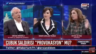 AK Partili Miroğlu'na canlı yayında ortamı geren PKK sorusu