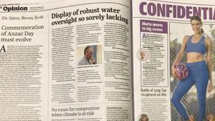 Muhafazakar gazetede muhalif haberler sürprizi