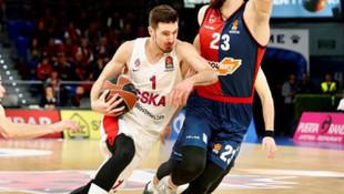 CSKA Moskova adını Dörtlü Final'e yazdırdı