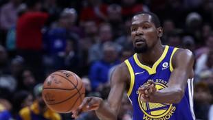 Golden State Warriors'ı üst tura Kevin Durant taşıdı