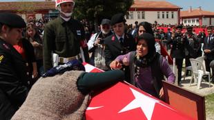 Şehit Uzman Çavuş Akcalı, son yolculuğuna uğurlandı