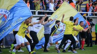 Menemen Belediyespor tarihinde ilk kez Spor Toto 1. Lig'e yükseldi