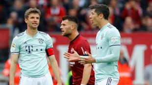 Nürnberg 1 - 1 Bayern Münih (Bundesliga)