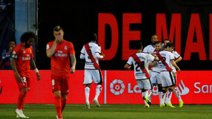 Rayo Vallecano 1 - 0 Real Madrid (La Liga)